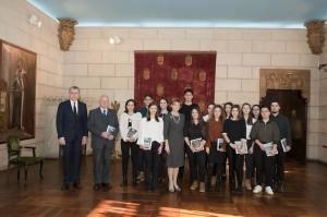 Custodele-Coroanei-şi-elevi-ai-colegiilor-centenare-la-Palatul-Elisabeta-23-ianuarie-2018-foto-Daniel-Angelescu-17